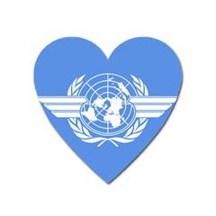 Flag Of Icao Heart Magnet by abbeyz71
