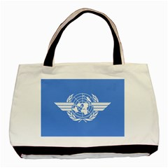 Flag Of Icao Basic Tote Bag (two Sides) by abbeyz71
