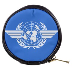 Flag Of Icao Mini Makeup Bag by abbeyz71