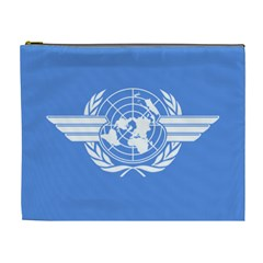 Flag Of Icao Cosmetic Bag (xl)