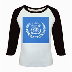 Flag Of International Maritime Organization Kids Baseball Jerseys