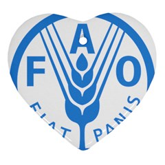 Logo Of Food And Agriculture Organization Ornament (heart)