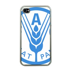Logo Of Food And Agriculture Organization Apple Iphone 4 Case (clear)