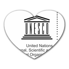 Logo Of Unesco Heart Mousepads by abbeyz71