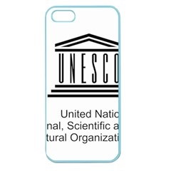 Logo Of Unesco Apple Seamless Iphone 5 Case (color)