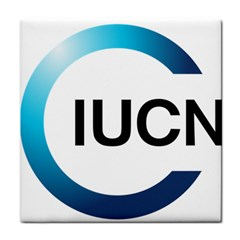 Logo Of International Union For Conservation Of Nature Tile Coasters