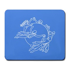 Flag Of Universal Postal Union Large Mousepads by abbeyz71