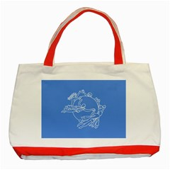 Flag Of Universal Postal Union Classic Tote Bag (red) by abbeyz71