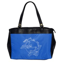 Flag Of Universal Postal Union Oversize Office Handbag