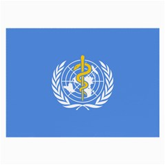 Flag Of World Health Organization Large Glasses Cloth