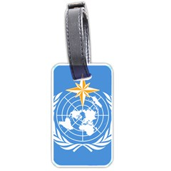 Flag Of World Meteorological Organization Luggage Tags (one Side)