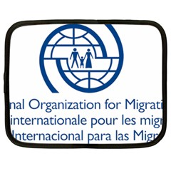 Logo Of International Organization For Migration Netbook Case (large)