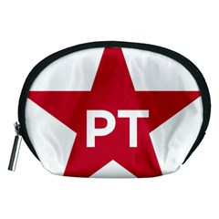 Logo Of Brazil Workers Party Accessory Pouch (medium) by abbeyz71