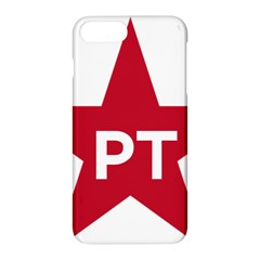 Logo Of Brazil Workers Party Apple Iphone 8 Plus Hardshell Case