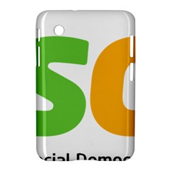 Logo Of Brazil Social Democratic Party Samsung Galaxy Tab 2 (7 ) P3100 Hardshell Case