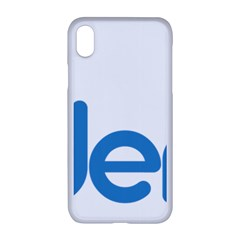 Logo Of Brazil National Labour Party Apple Iphone Xr Seamless Case (white)