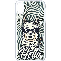 Hello Alpaca Apple Iphone X Seamless Case (white) by NiOng