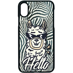 Hello Alpaca Apple Iphone Xs Seamless Case (black) by NiOng