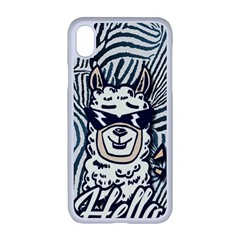 Hello Alpaca Apple Iphone Xr Seamless Case (white) by NiOng