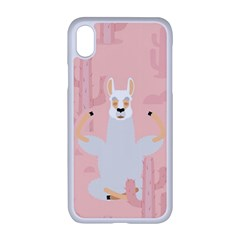 Cactus Alpaca Lama Apple Iphone Xr Seamless Case (white) by NiOng