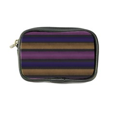 Stripes Pink Yellow Purple Grey Coin Purse
