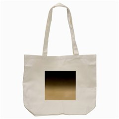 Almond Buff To Black Tote Bag (cream)