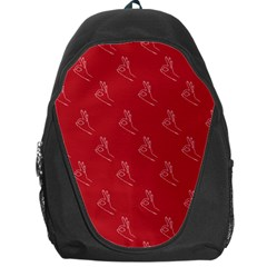 A Ok Perfect Handsign Maga Pro Trump Patriot On Maga Red Background Backpack Bag