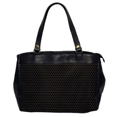 Hexagon Effect  Oversize Office Handbag