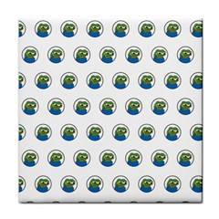 Apu Apustaja With Banana Phone Wall Eyed Pepe The Frog Pattern Kekistan Tile Coasters