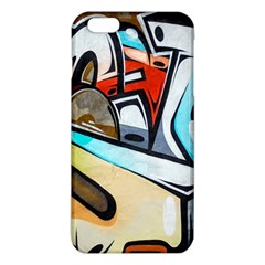 Blue Face King Graffiti Street Art Urban Blue And Orange Face Abstract Hiphop Iphone 6 Plus/6s Plus Tpu Case