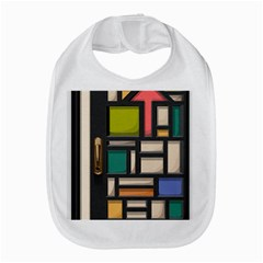 Door Stained Glass Stained Glass Bib