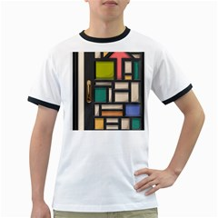 Door Stained Glass Stained Glass Ringer T by Pakrebo