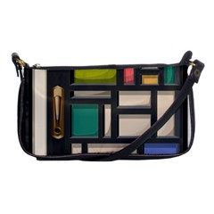 Door Stained Glass Stained Glass Shoulder Clutch Bag