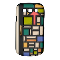 Door Stained Glass Stained Glass Samsung Galaxy S Iii Classic Hardshell Case (pc+silicone)