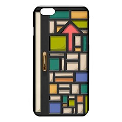 Door Stained Glass Stained Glass Iphone 6 Plus/6s Plus Tpu Case