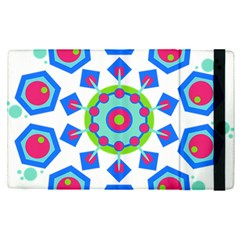 Mandala Geometric Design Pattern Apple Ipad Pro 12 9   Flip Case