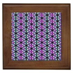 Geometric Patterns Triangle Seamless Framed Tiles