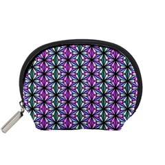 Geometric Patterns Triangle Seamless Accessory Pouch (small)