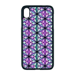 Geometric Patterns Triangle Seamless Apple Iphone Xr Seamless Case (black)