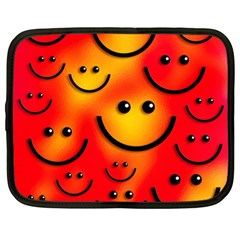Smile Smiling Face Happy Cute Netbook Case (xl) by Pakrebo