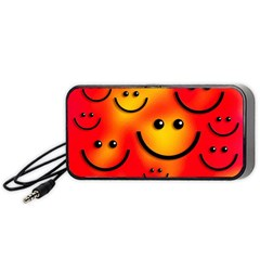 Smile Smiling Face Happy Cute Portable Speaker