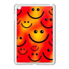Smile Smiling Face Happy Cute Apple Ipad Mini Case (white)