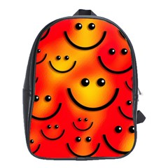 Smile Smiling Face Happy Cute School Bag (xl)