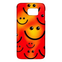 Smile Smiling Face Happy Cute Samsung Galaxy S6 Hardshell Case