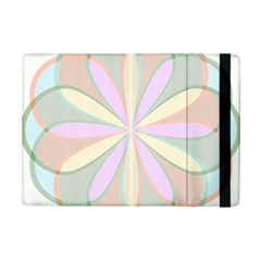 Flower Stained Glass Window Symmetry Ipad Mini 2 Flip Cases