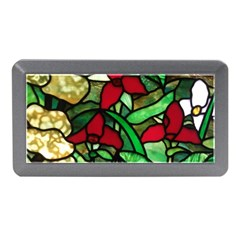 Stained Glass Art Window Church Memory Card Reader (mini)