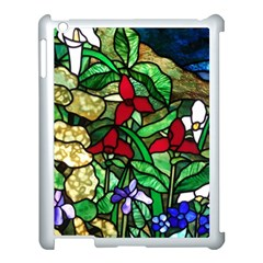 Stained Glass Art Window Church Apple Ipad 3/4 Case (white) by Pakrebo