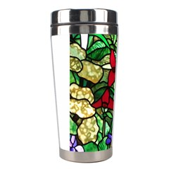 Stained Glass Art Window Church Stainless Steel Travel Tumblers