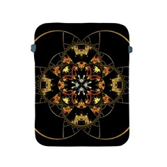 Fractal Stained Glass Ornate Apple Ipad 2/3/4 Protective Soft Cases