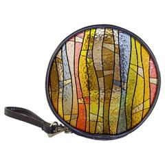 Stained Glass Window Colorful Classic 20 Cd Wallets